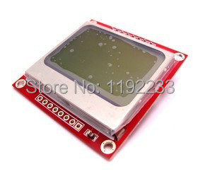 84 48 lcd module nokia instructable