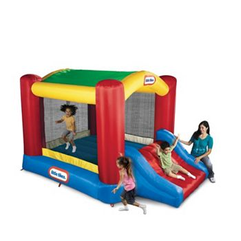 little tikes shady jump n slide bouncer instructions