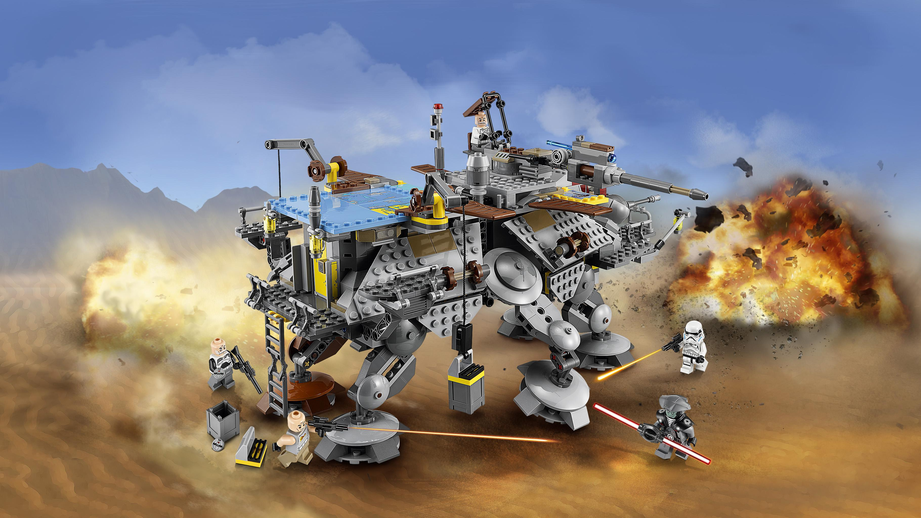 lego star wars captain rex at te instructions
