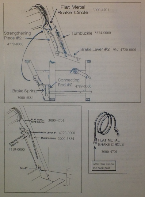 conical brake tpa3 instructions