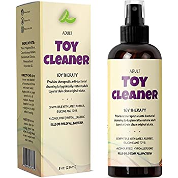 sex toy cleaning spray instructions