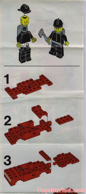 3-1 lego red car instructions