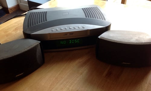 bose ps3-2-1 2 powered speaker complete system instructions