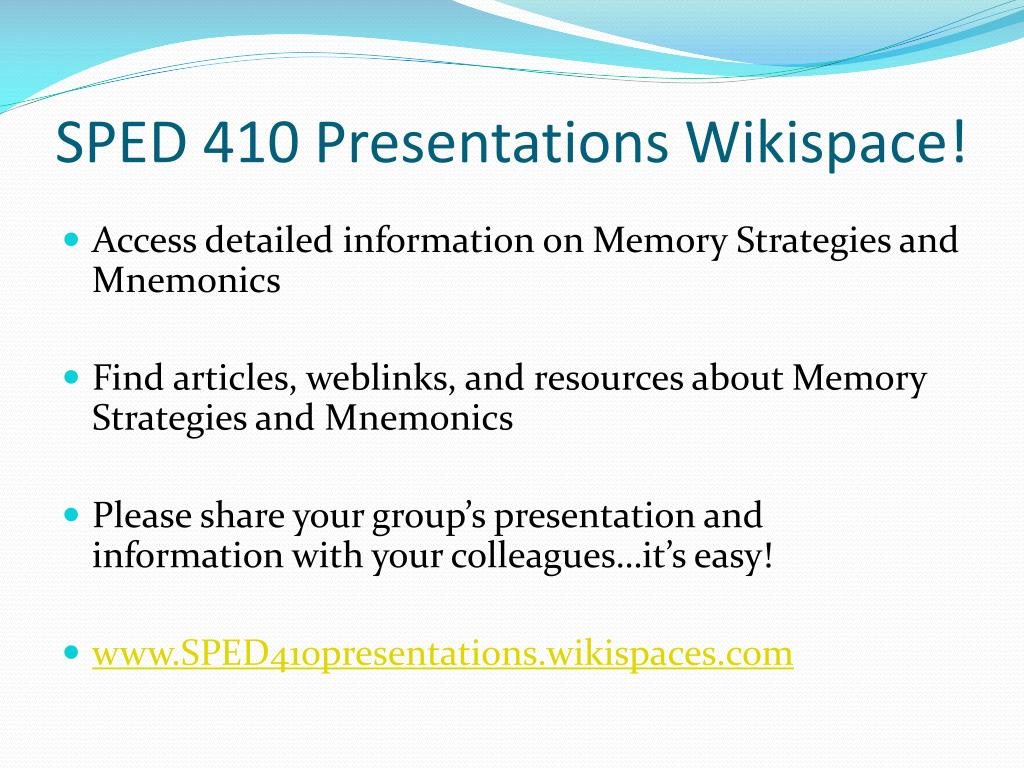 instructional techniques for student presenations