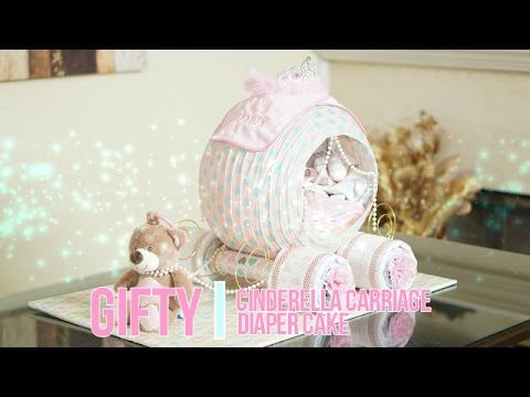 instructions on how to make a bassinet diaper cake