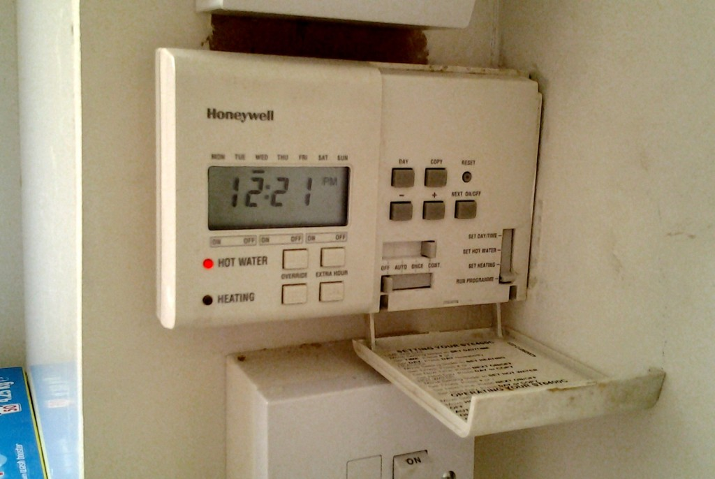 center heating timer instructions