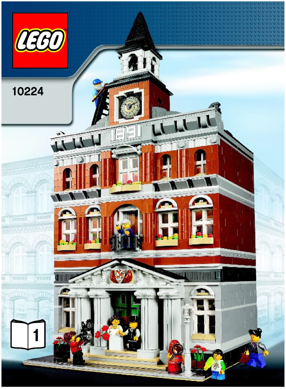 lego instructions town hall