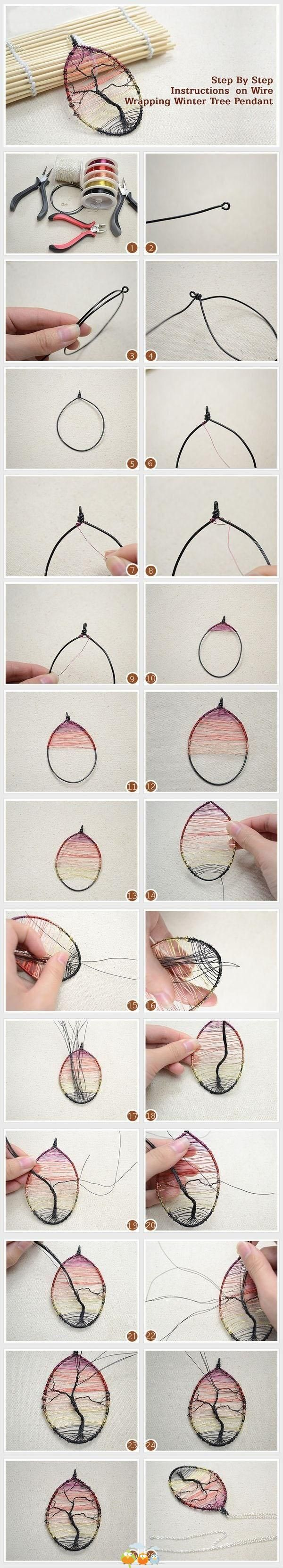 marble necklaces homemade step by step instructions