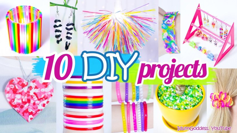 project instructions using recycled materials to make useful things