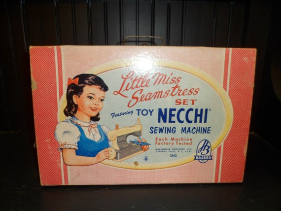 the little seamstress sewing machine instructions